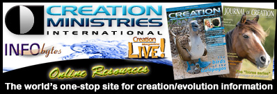 Creation Ministries International - The world's one-stop site for creation/evolution information