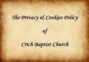 The Privacy & Cookies Policy of Crich Baptist Church