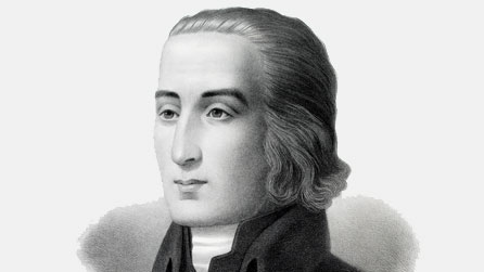 William Williams, hymn writer, and called by some 'The Sweet Singer of Wales'