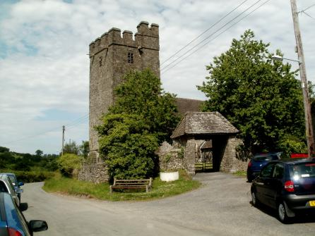 The Parish Church at Llanfair-ar-y-bryn, where William Williams is buried