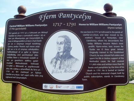 William Williams - Pantycelyn Farm Heritage Board