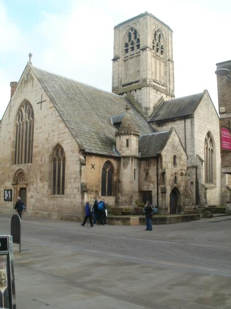 St. Mary de Crypt Church, Gloucester