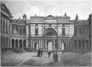 An Engraving of Edinburgh University